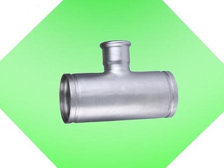 沟槽卡压式异径三通接头